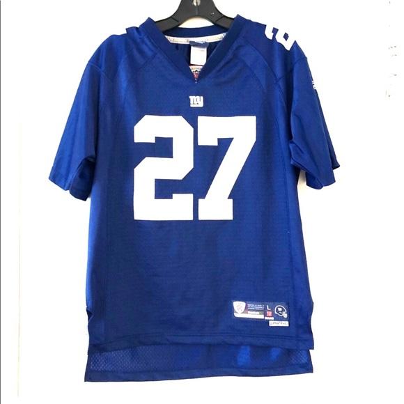 NY Giants Football Brandon Jacobs 27 Jersey